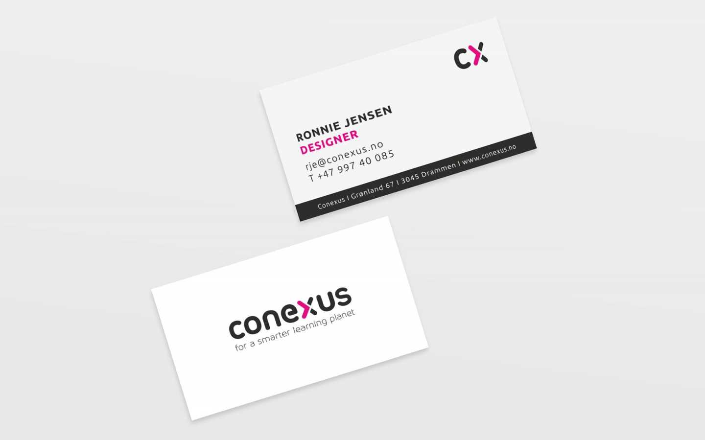 conexus Visitenkarten