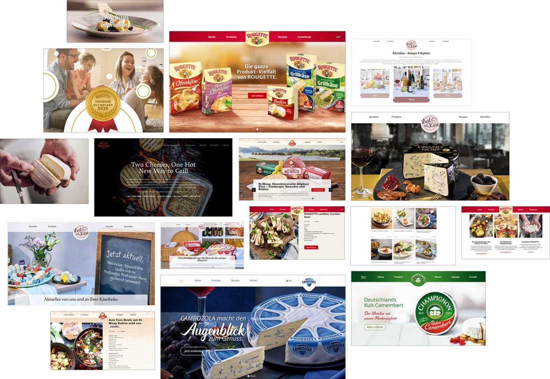FMCGWeb, Webdesign