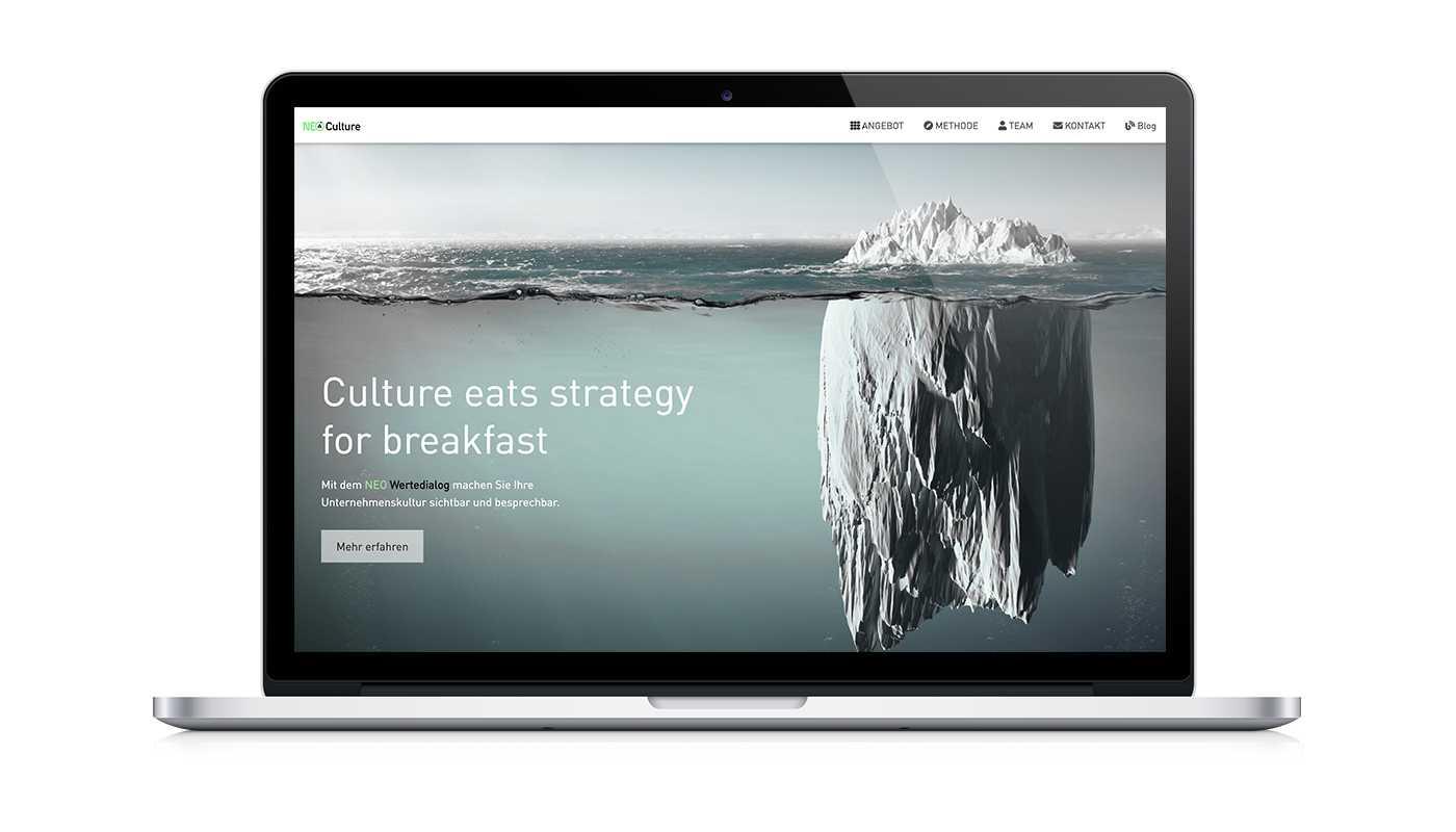 NEO Culture Website
